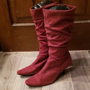 Women's size 9 slouchy boots